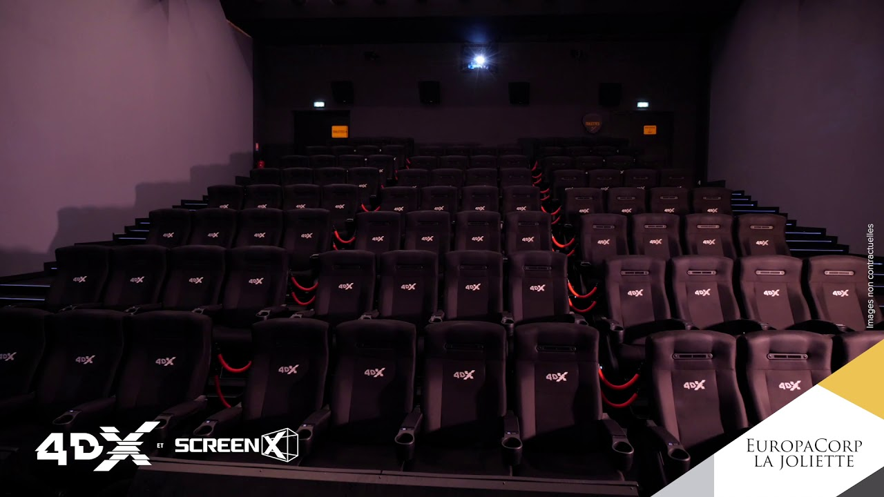 EuropaCorp La Joliette - Présentation du nouveau cinéma à Marseille