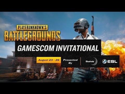 Solo Tournament TPP #1 - Gamescom PUBG Invitational 2017 - Día 1