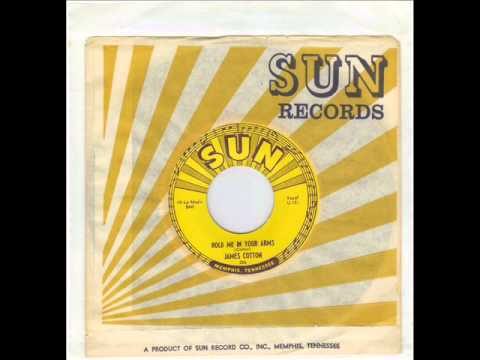 JAMES COTTON -  COTTON CROP BLUES -  HOLD ME IN YOUR ARMS -  SUN 206