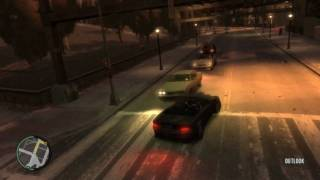 GTA 4 PC Gameplay High Settings 720p