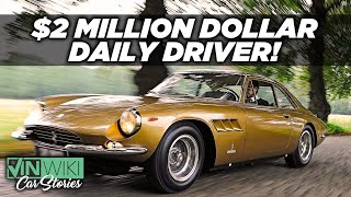He daily drives a $2 million Ferrari
