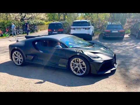 World's First $6m Bugatti Divo Start Up!