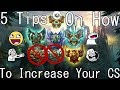 5 TIPS TO INCREASE YOUR CS QUICK! League of Legends Guide CS