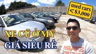 XE HƠI CŨ Ở MỸ GIÁ SIÊU RẺ $3,000 - 70 TRIỆU VND || Những chiếc xe cũ SIÊU RẺ - ATLANTA, USA