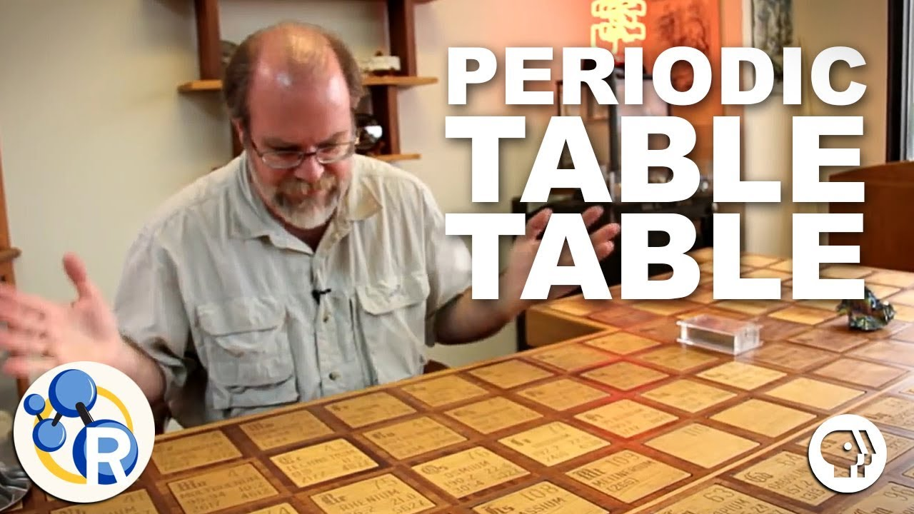 The periodic table table youtube the periodic table table urtaz Gallery