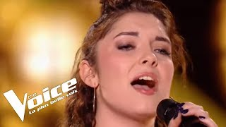 Frank Sinatra Fly Me To The Moon Julianna The Voice France 2018 Auditions Finales