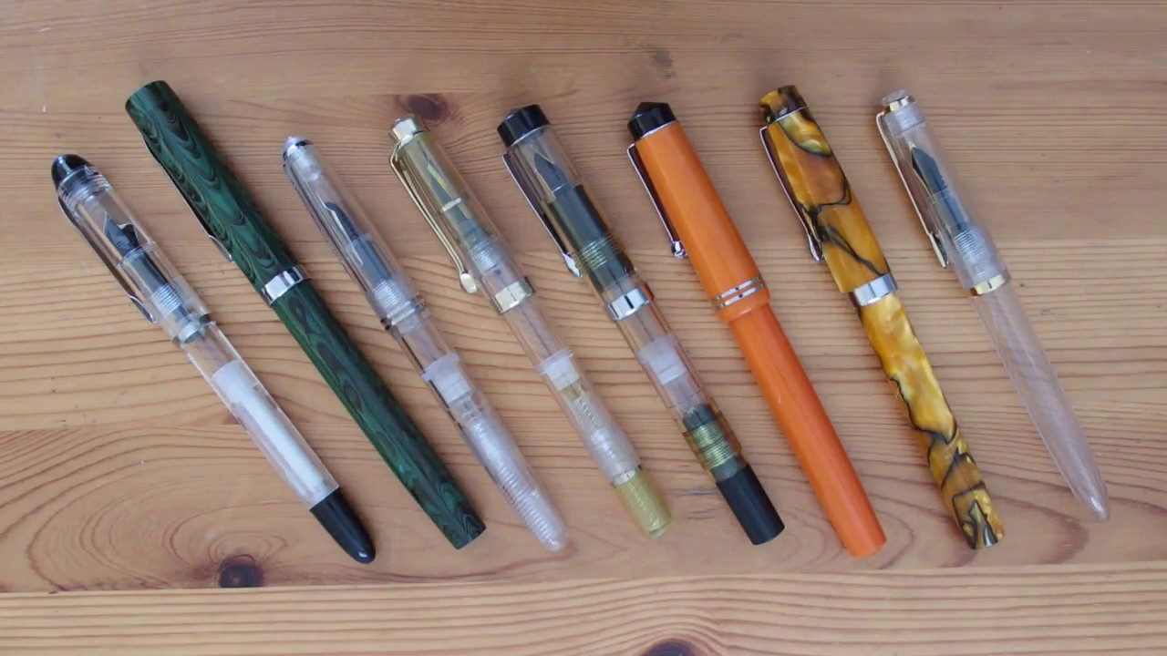 the fpr collection by fountain pen revolution youtube