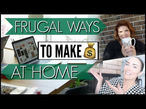 🔥frugal-living-tips-●-frugal-ways-to-make-money-at-home-●-free-side-hustles-for-extra-money-at-home