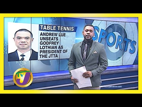 Andrew Lue Elected JTTA President in Jamaica   TVJ Sports