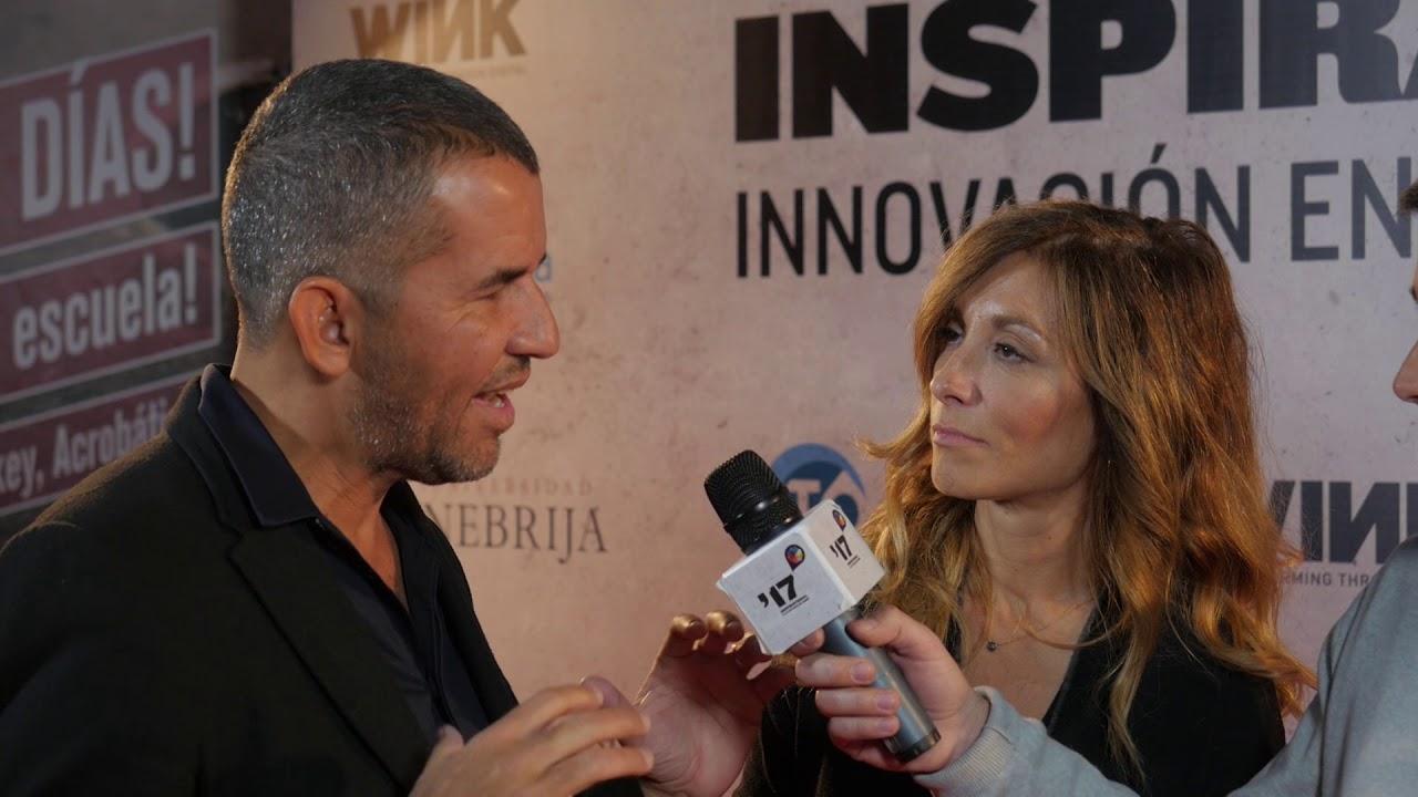 Festival  Inspirational 2017: Entrevista a Miguel Bemfica, Elena Ati y a Pablo Muñoz