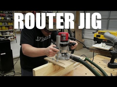 Universal Router Edge Guide And Mortise Jig - 220