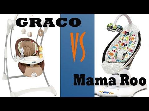 Как выбрать ЭЛЕКТРОННЫЕ качели? GRACO или 4moms mamaroo?