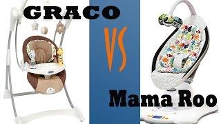 Как выбрать ЭЛЕКТРОННЫЕ качели? GRACO или 4moms mamaroo?(Как выбрать электронные качели? Расскажу все про качели GRACO. А также сравним с 4moms mamaroo. Какая качеля лучше?..., 2015-12-14T03:46:44.000Z)