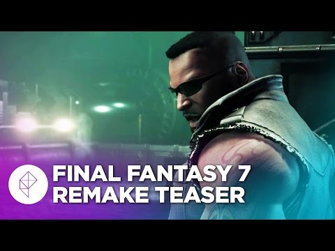 Final Fantasy 7 remake's new trailer showcases gameplay and voice acting