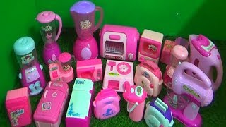 HUGE COLLECTION OF  KITCHEN APPLIANCES TOYS FOR KIDS -- HOME APPLIANCES TOYS FOR KIDS