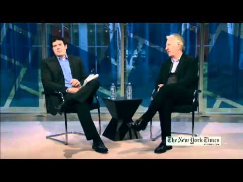 Alan Rickman talks Severus Snape at NY Times Arts & Leisure Weekend 2012