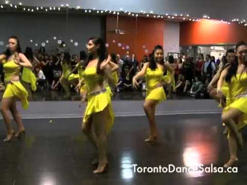 "BASo Soprano performs ""Singapore Vibes"" at the Toronto Dance Salsa Annual Holiday Bash 2014"