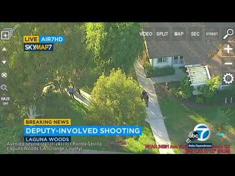 Suspect injured in Laguna Woods deputy-involved shooting   ABC7
