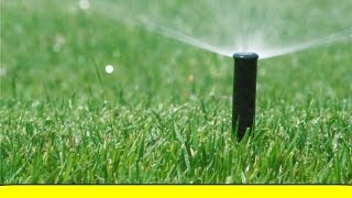 How To Install a Sprinkler System (HowToLou.com)