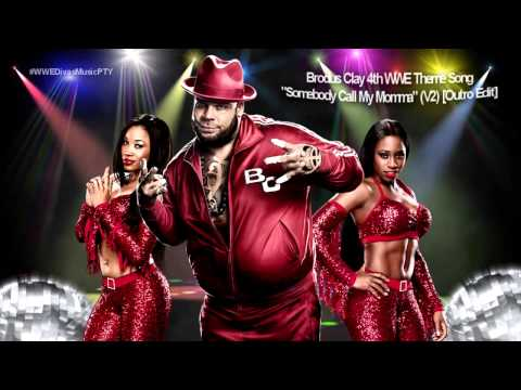 "2012: Brodus Clay 4th WWE Theme Song - ""Somebody Call My Momma"" (Outro Edit)"
