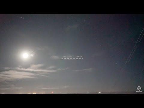 UFO seen near Churchill, Manitoba, 1:4 speed, January 27, 2018
