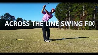 Across the Line Fix | Tom Saguto, PGA | SagutoGolf