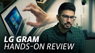 The LG Gram: Light, Portable, & Great Battery | Hands-On Review