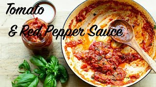 Greek Style Tomato & Red Pepper Sauce