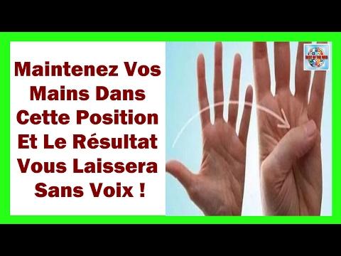 Maintenez Vos Mains Dans Cette Position Et Le Résultat Vous Laissera Sans Voix
