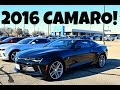 Car Shopping: 2016 Chevrolet Camaro RS Exterior + Interior Review