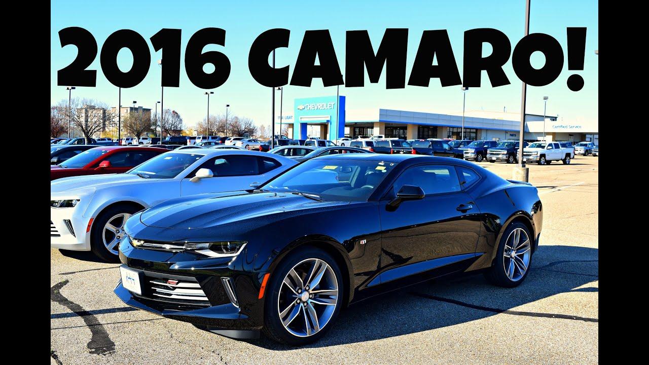 car shopping 2016 chevrolet camaro rs exterior interior review youtube - Camaro 2016 Interior