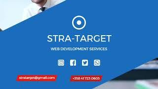 Stra-Target - Website Development, Content Creation, Social Media Integration