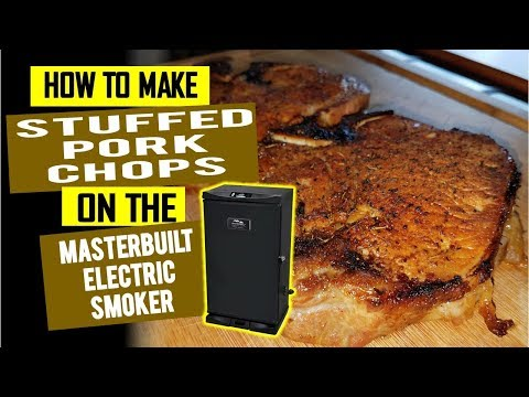 Smoked Pork Chops On The Masterbuilt Electric Smoker