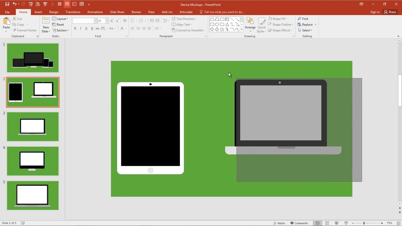 how to create mockup templates