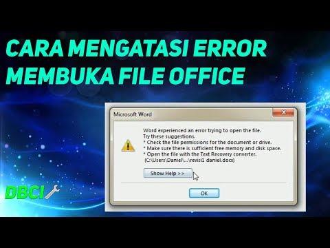 cara-mengatasi-error-membuka-file-word,excel,power-point-#howtofix