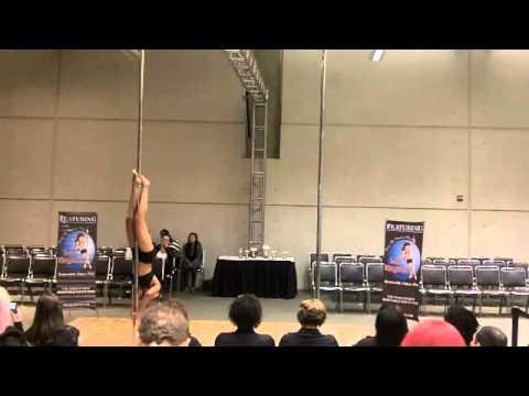 "Miss Georgia Pole Dance Competition 2011 Amateur Compulsory Round ""Whiplash"""