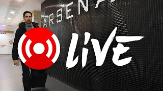 Arsenal v Manchester United | Premier League | Live Warm-Up, Team Arrivals and Your Comments