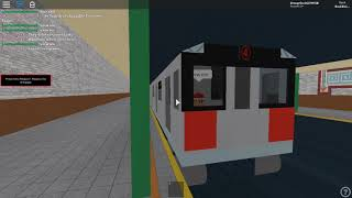MTA R142 (4) Train Departing at Borough Hall | ROBLOX