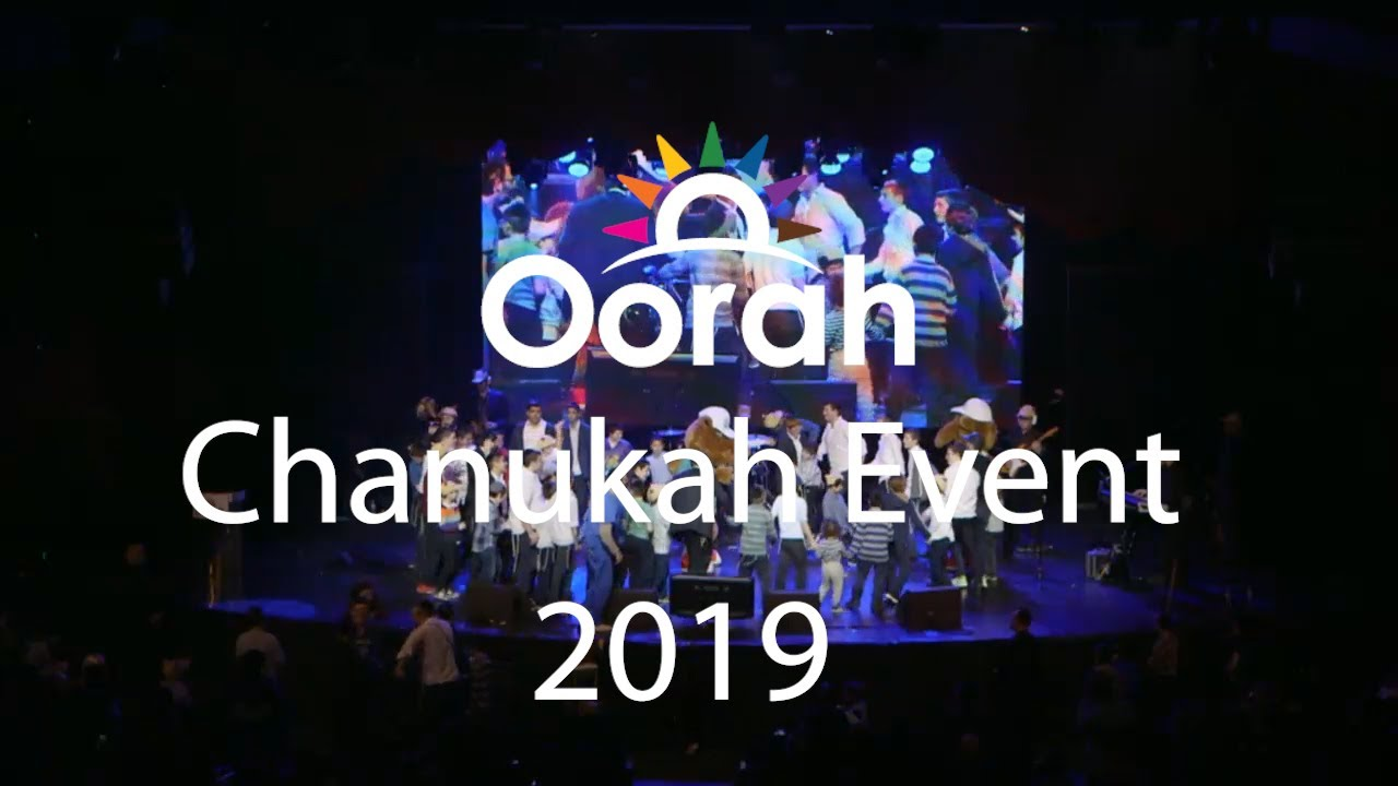 Oorah Chanukah Event 2019 Highlights featuring Gad Elbaz, Moshe Storch, Twins from France and More!