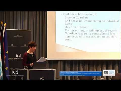 Marta Cooper (Editorial Assistant, Index on Censorship) - Institute for Cultural Diplomacy