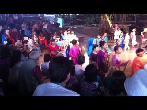 Helaran Ceremony with Classical Sundanese five-tone Angklung Music called Salendro