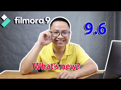 Filmora 9.6 What's New In this Update?