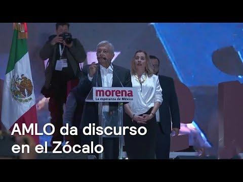 """'No les voy a fallar; quiero ser un buen presidente"""": López Obrador"""