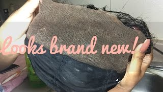 HOW TO REMOVE GOT2B GEL/LACE GLUE OUT OF LACE WIGS FAST!