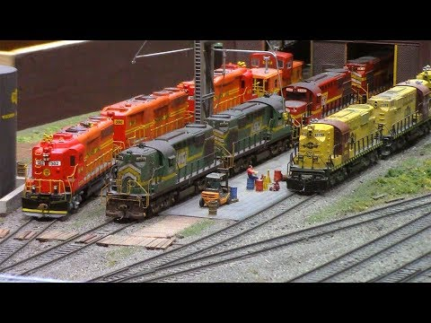 2018 National Model Railroad Association Show In Kansas CIty 1