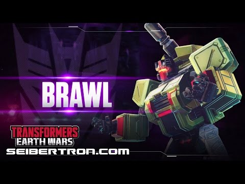 BRAWL Character Spotlight video and demo Transformers: Earth Wars