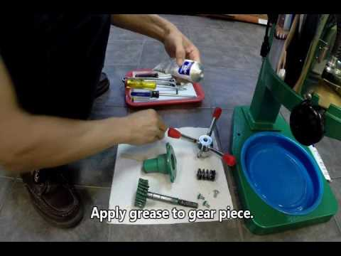 fujimarca shave ice machine gear assembly maintenance