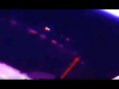 Ufo Fires Red Beam at the ISS?