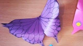 Красивые бабочки из бумаги. DIY Butterfly Room Decor. Бабочки оригами.