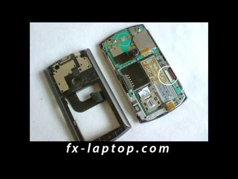 Disassembly T Mobile MDA Compact III - Battery Glass Screen Replacement